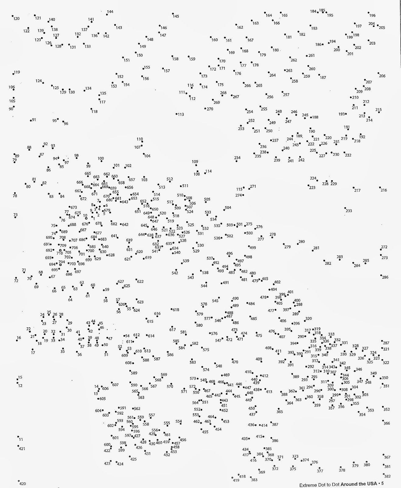 Hard Dot To Dots  Az Coloring Pages  Crafts    Math