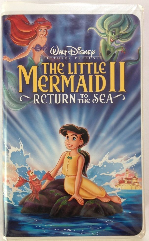 Details About Walt Disney Vhs Home Video The Little Mermaid Ii 2