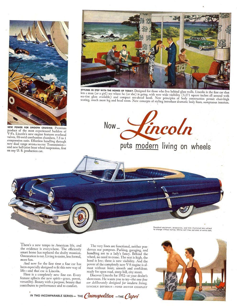 1952 Lincoln Capri Convertible