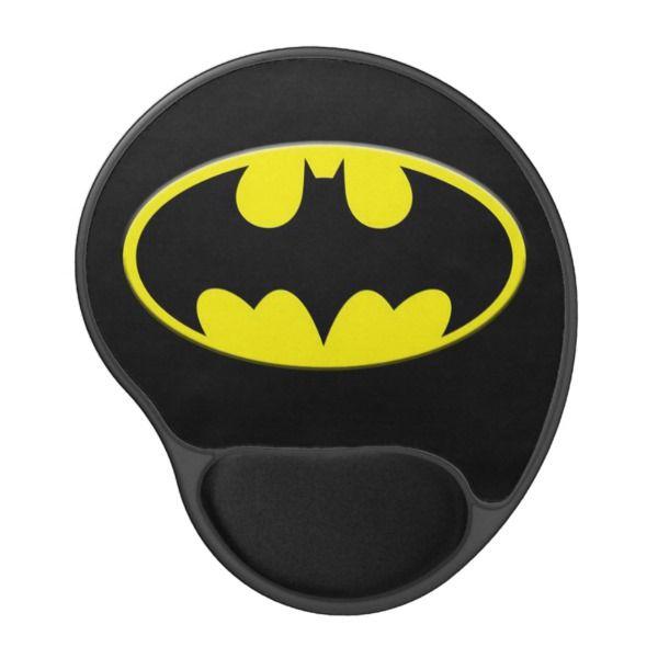 Superb Cool Batman Yellow Bat Logo Gel Mouse Pad Custom Office Supplies #business  #logo #