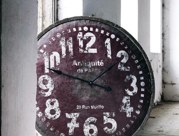 45 idées pour le plus cool horloge géante murale