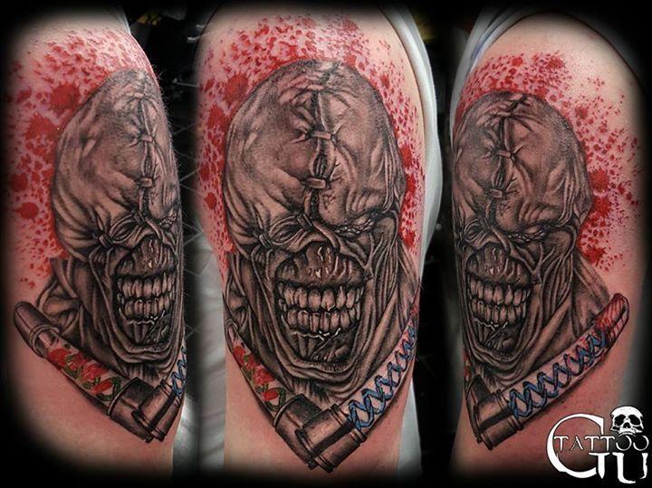Resident Evil nemesis tattoo | Nemesis tattoo, Tattoos ...