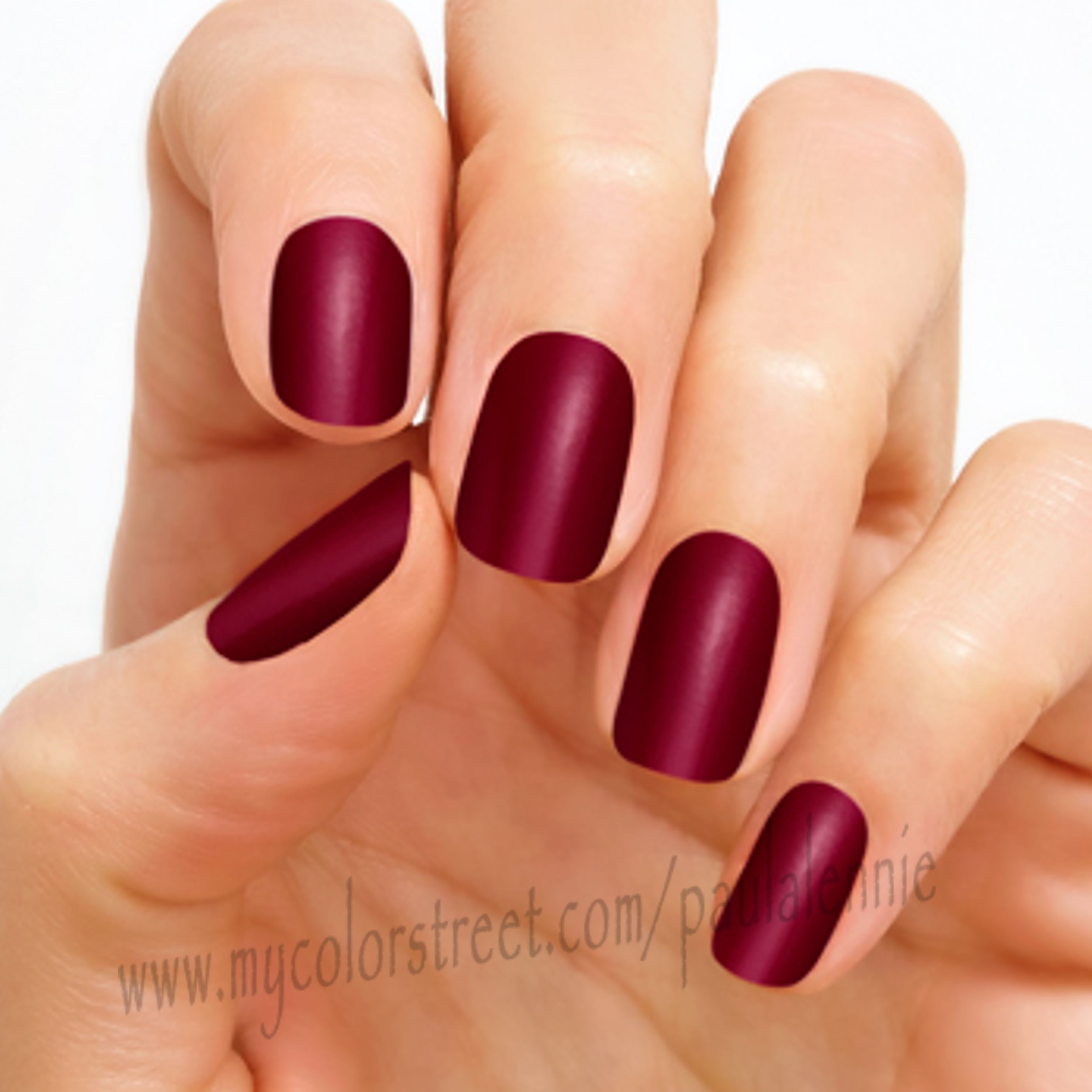 London Calling - London Calling\'s deep, sumptuous red shade keeps ...
