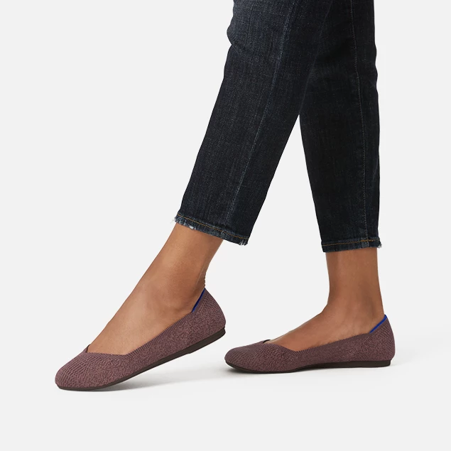 Round Toe Ballet Flats for Women