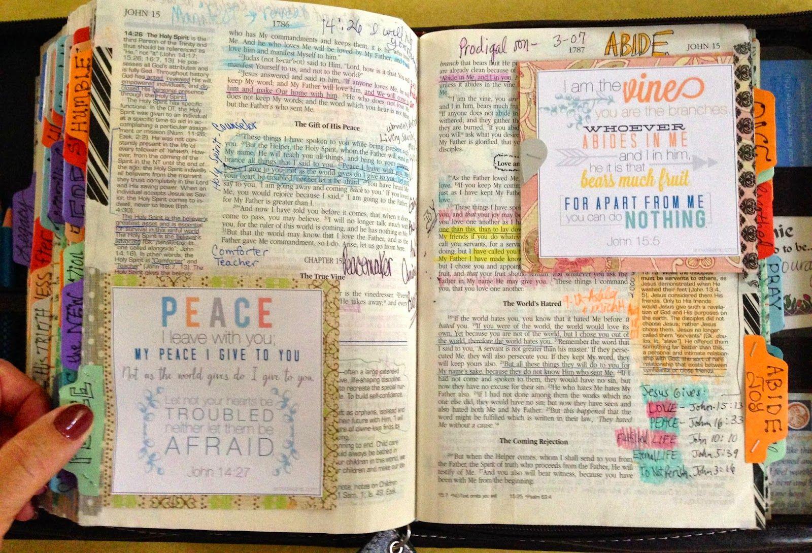 Bible Marginalia- Your personal IEP | Illustrated Faith
