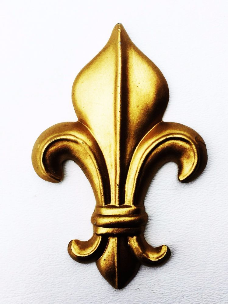 Details about Antique Hardware Vintage French Provincial Fleur de ...