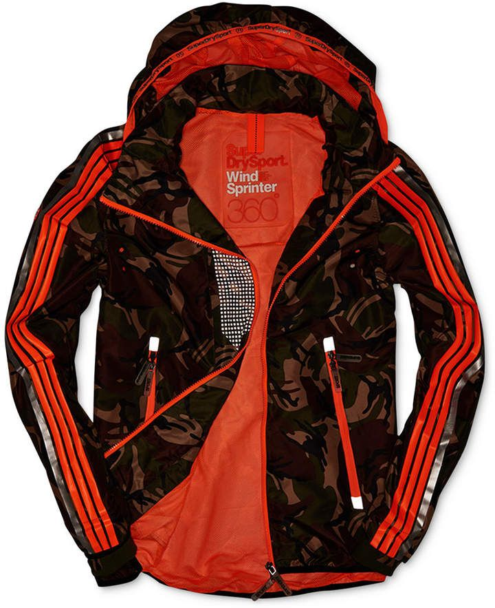 Superdry Men Hooded Camo Jacket in 2019 | Camo jacket