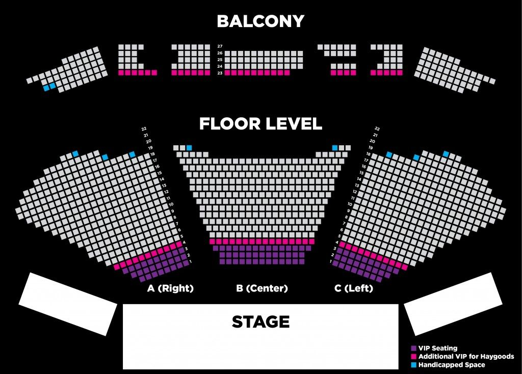 Clay Cooper Theatre Tickets Seating Chart