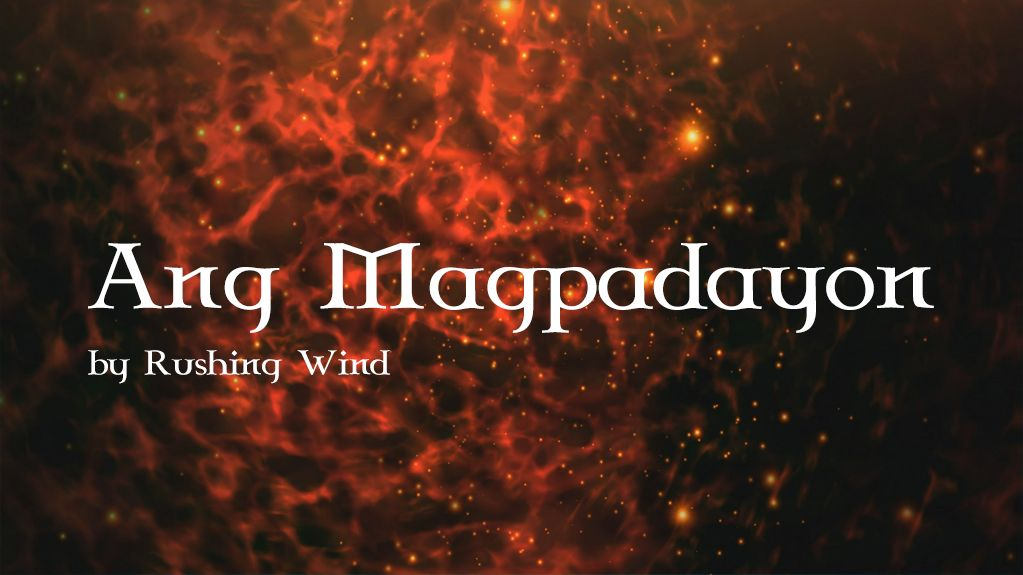 Ang Magpadayon By Rushing Wind Guitar Chords Soloing And Guitar Solo