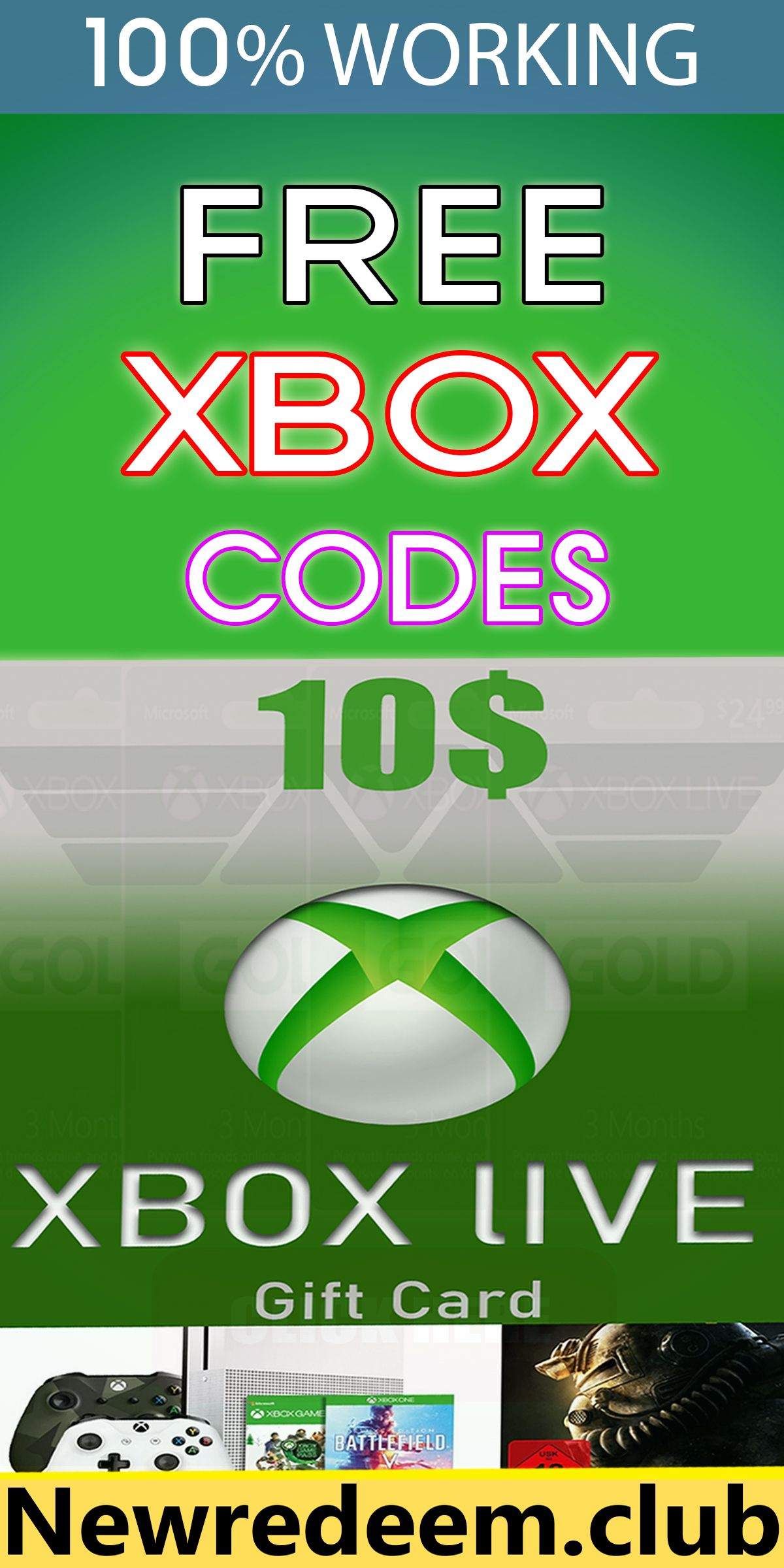 How to get free xbox codes in 2020 xbox gift card xbox