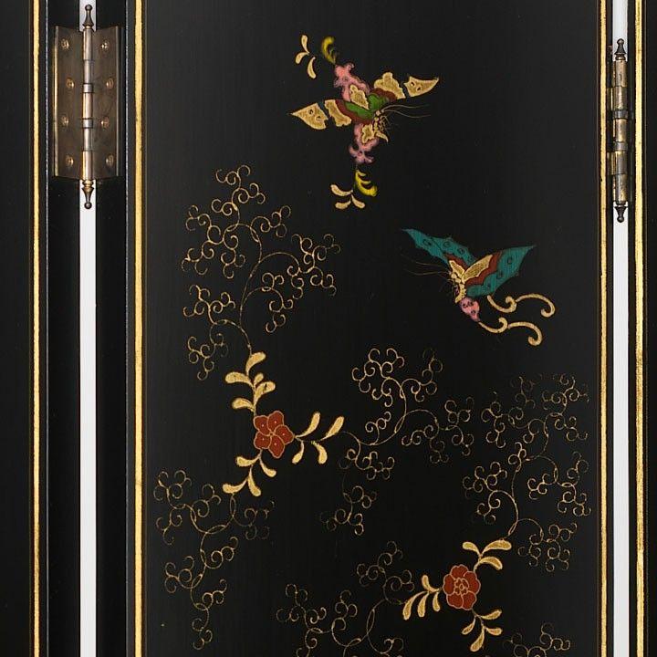 Shanxi-Paravent mit Schmetterlingen