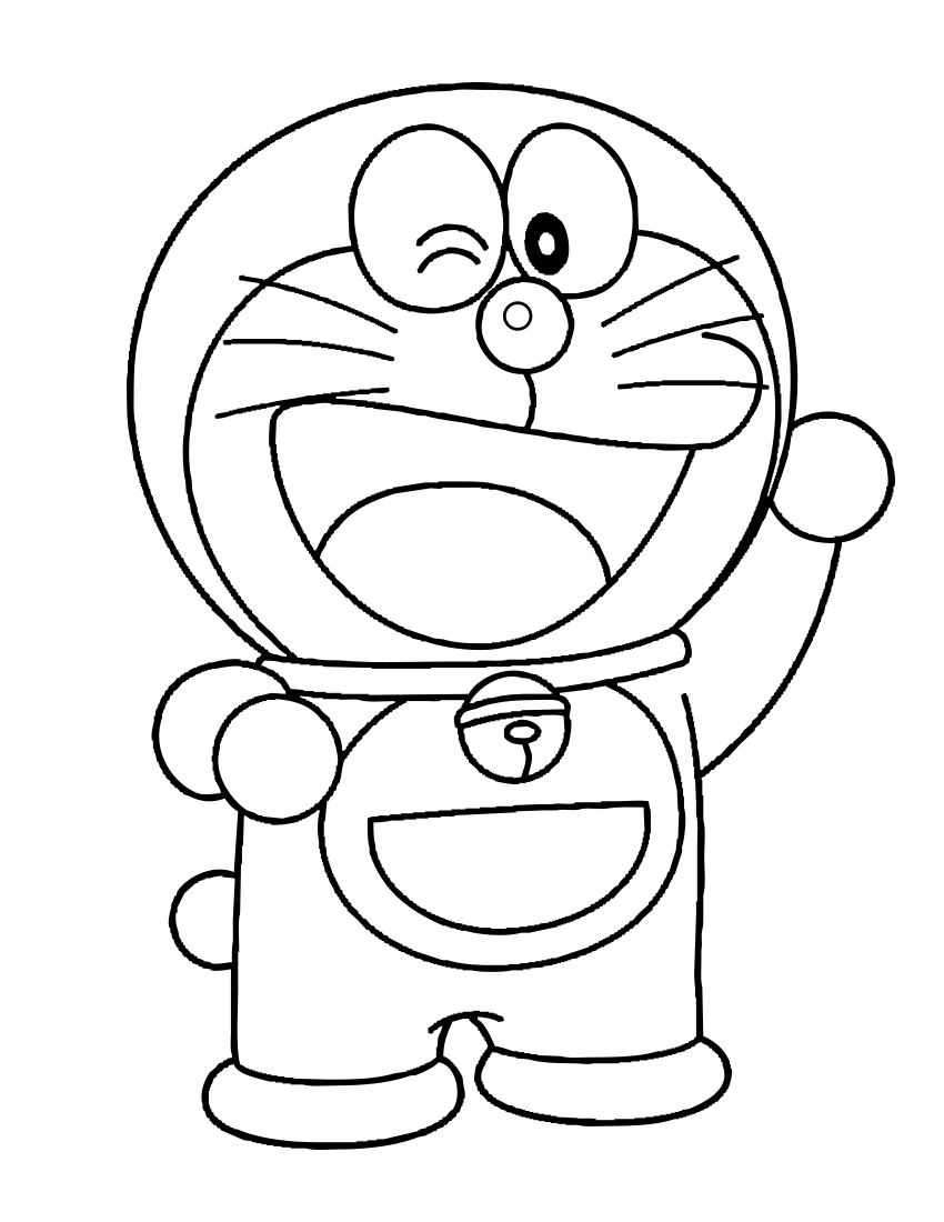 880 Doraemon Coloring Pages Pdf Images Pictures In Hd Gambar
