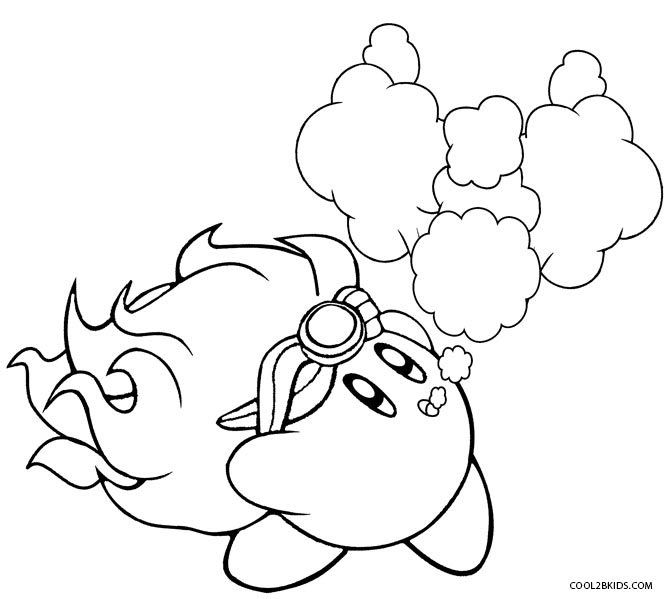Printable Kirby Coloring Pages For Kids | Cool2bKids | Video Game ...