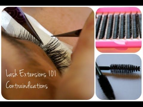 d5a0ee44c3a ▷ Eyelash Extensions 101 - Contraindications - YouTube | Eyelash ...