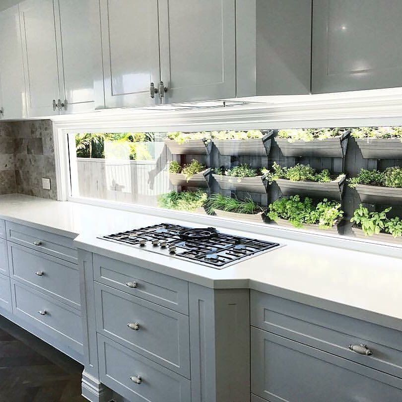 Built In Herb Garden Would You Have This In Your Kitchen