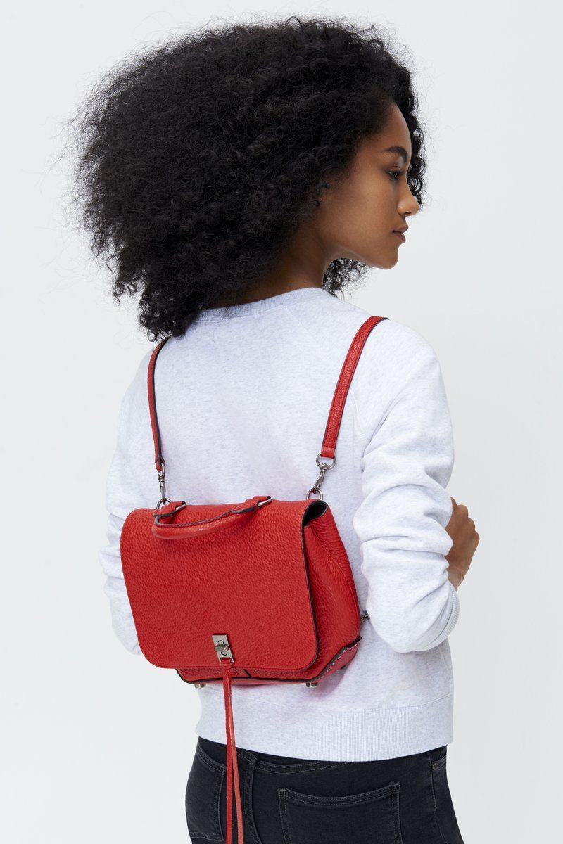 2d79904ab Red Medium Darren Convertible Backpack | purse ideas | Convertible ...