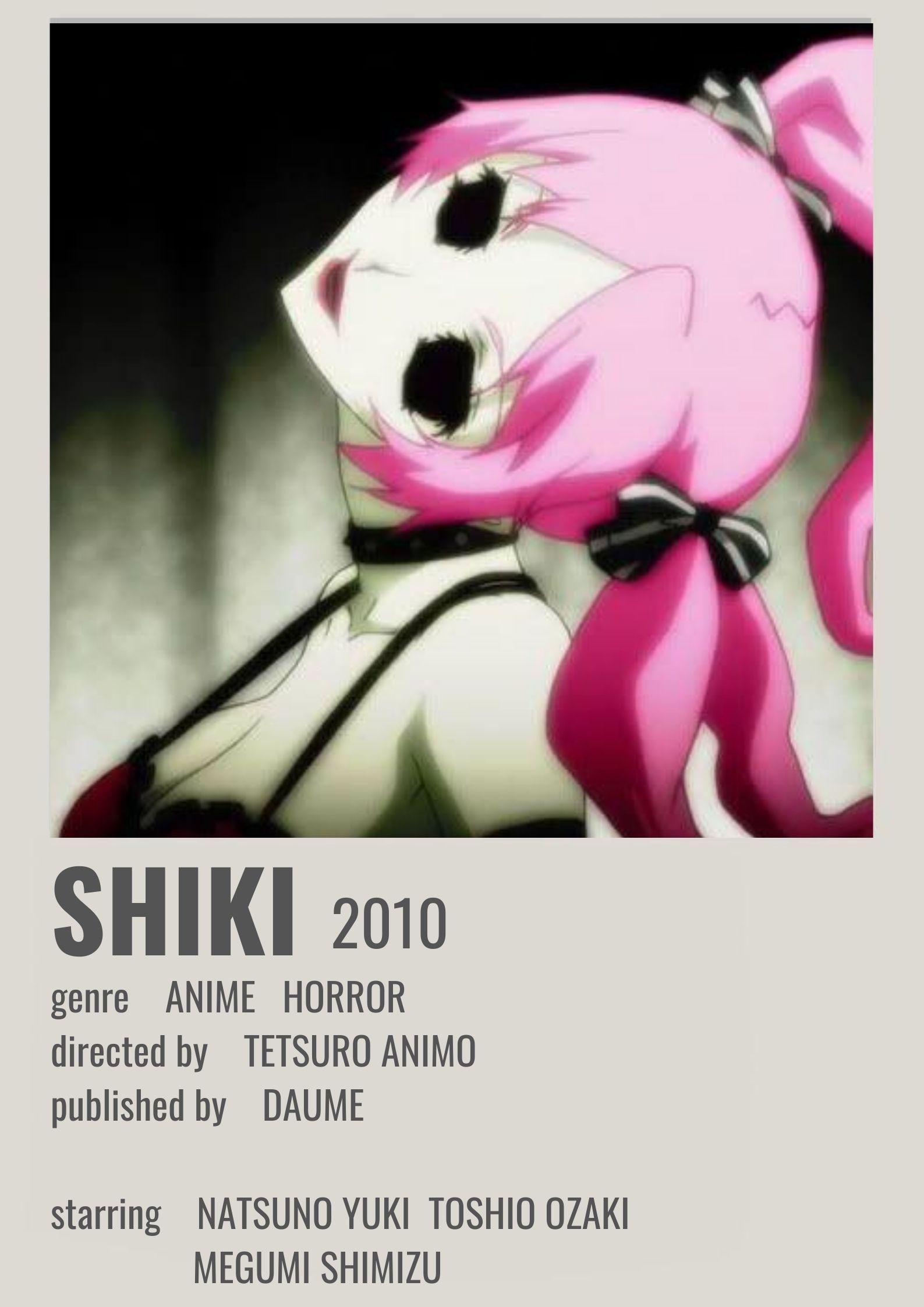 shiki polaroid poster anime canvas