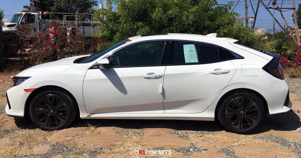 New 2017 Honda Civic Hatch Nabbed Out In The Open