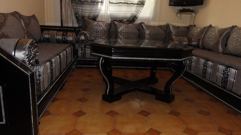 Décoration salon marocain moderne et traditionnel | Déco 0rienTaL ...