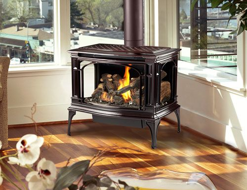 wood-burning stove fireplace inserts ... | gas stoves | Pinterest | Stove fireplace