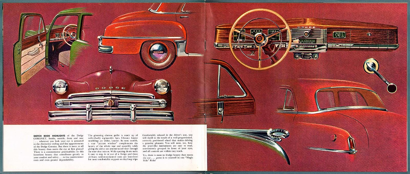 1950 Dodge Coronet And Meadowbrook 14 15