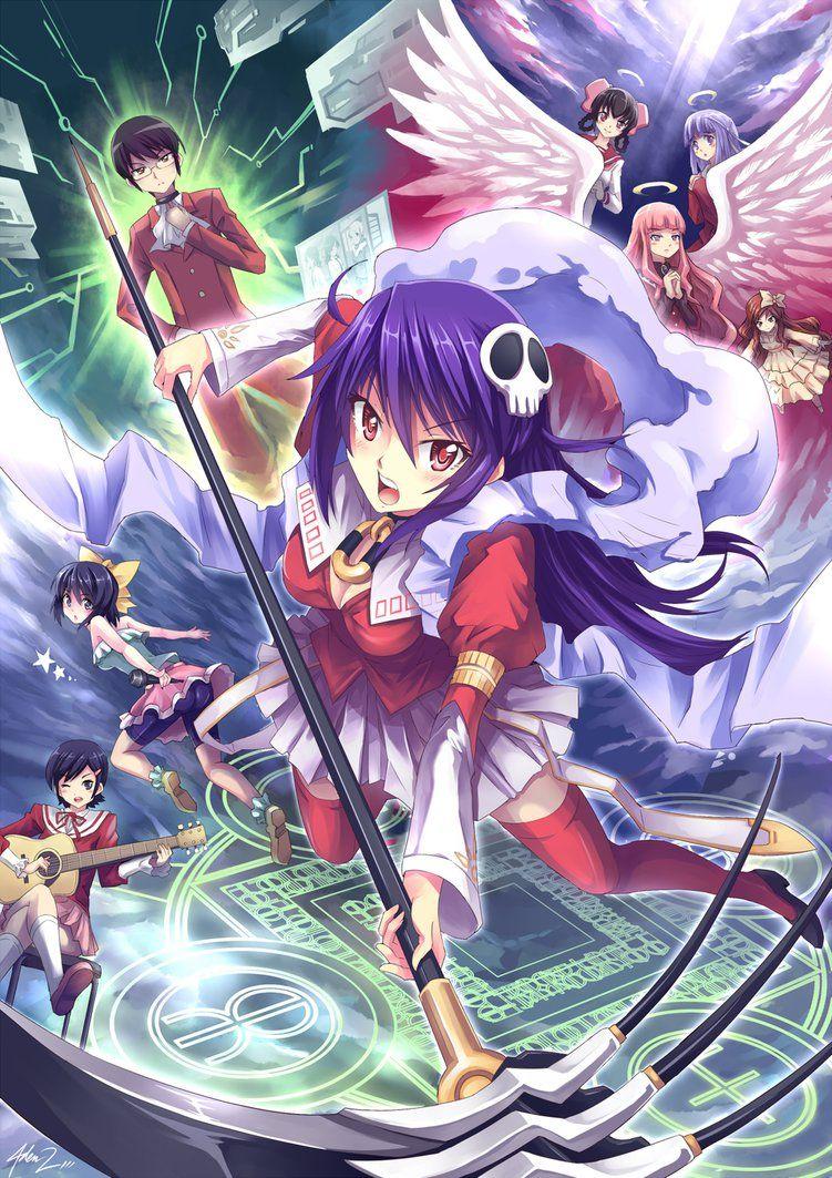 Haqua Megamihen by mysticswordsman21 Anime, Anime art