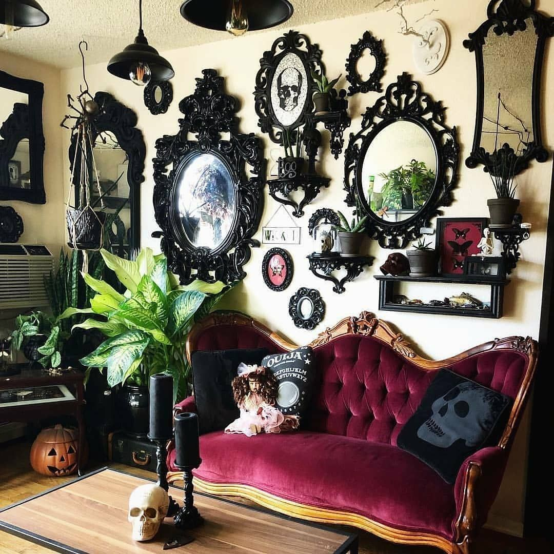Gothic Alternative Designer On Instagram Beautiful Repost By Darkstagrammm Check Us Out On Fb Gothic Unique Int Goth Home Decor Gothic Home Decor Decor