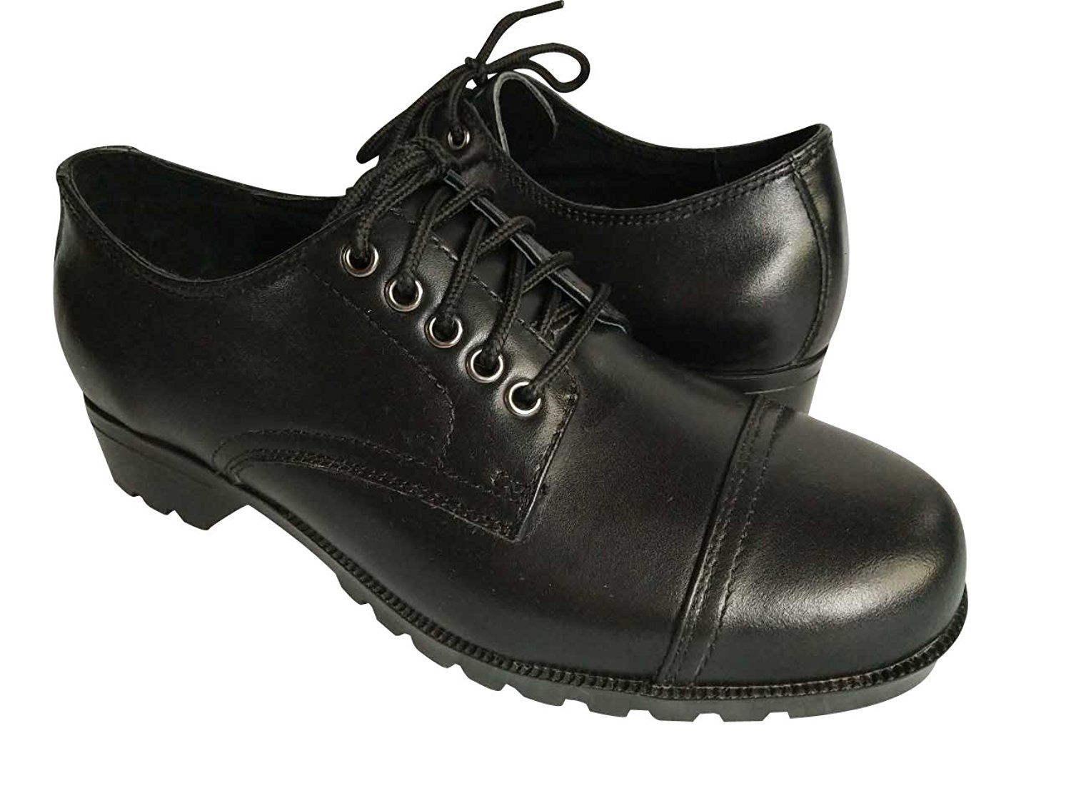 f621fcd2f453f Amazon.com | Cosycost Women's Oxford Dress Shoes, Real Leather Lace ...