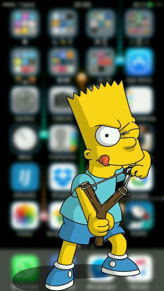 Wallpaper for iphone Simpson wallpaper iphone, Wallpaper