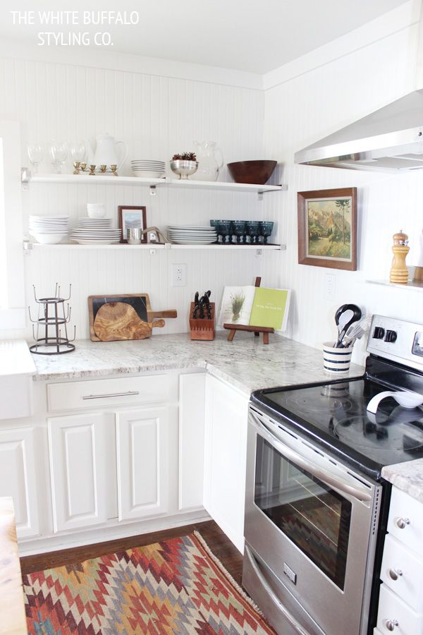 Our Kitchen On BHG To Be Shelving And Vintage Inspiration Bhg Kitchen Design Style