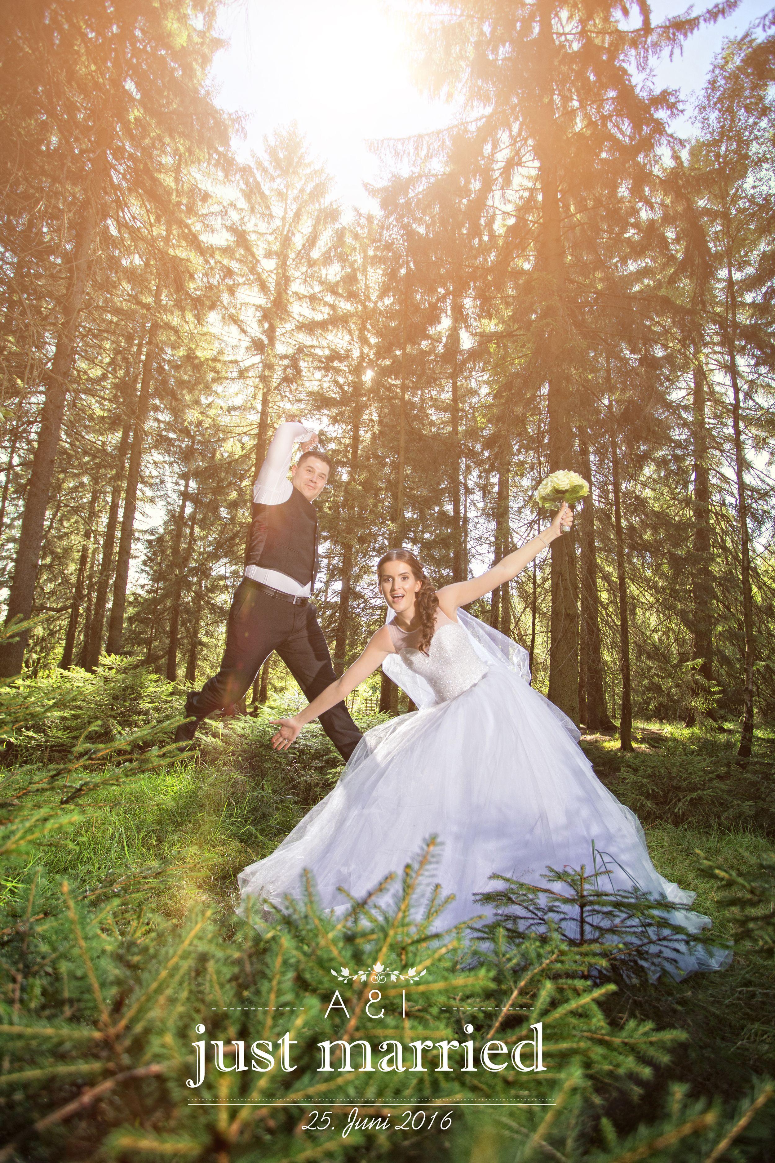 Hochzeit im wald hannover