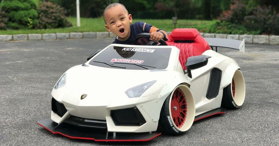 Kidstance Is The Liberty Walk Of Children S Ride On Car Tuning Kids Ride On Power Wheels Luxury Kid Cars