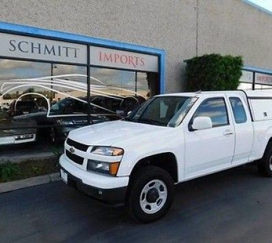 2010 Chevrolet Colorado Wt Extended Cab Pickup 4 Door Work Truck 4x4 Ext Low Miles