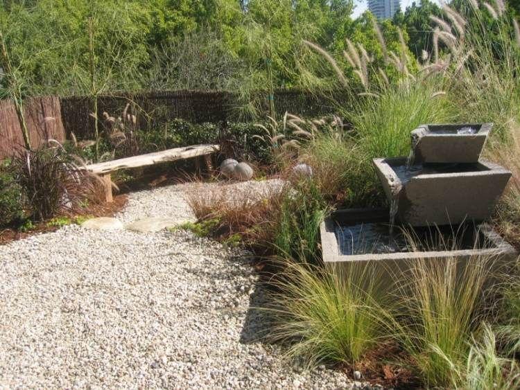 Cascade de jardin, fontaine et bassin- 80 oasis modernes Fountain