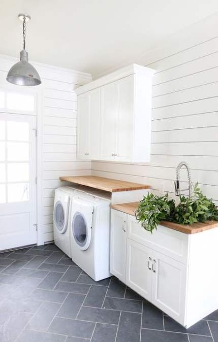 Best Bathroom Wood Countertop Laundry Rooms 63 Ideas Laundry