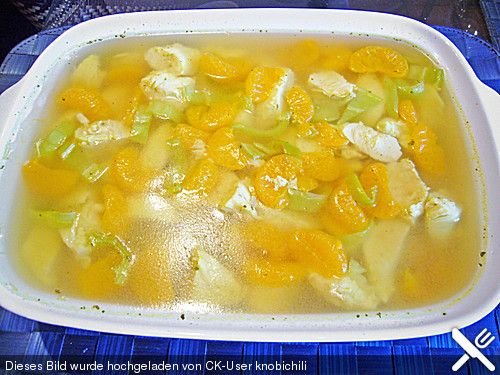 Geflügel - Mandarinen - Sülze (Rezept mit Bild)   Chefkoch.de