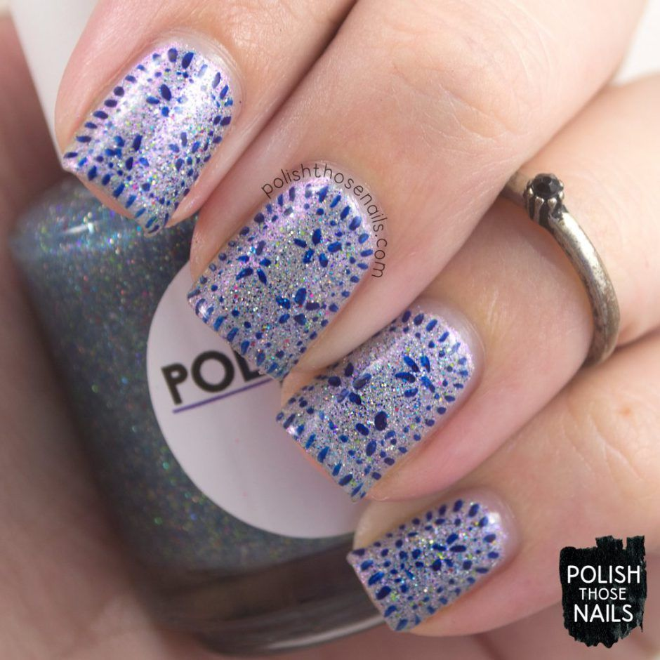 Delicate Sparkle // Polish Those Nails // 31 Day Challenge ...