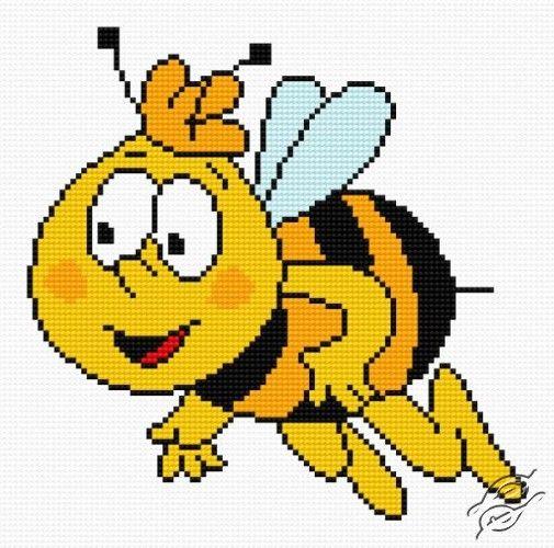 Bee Gucio - Free Cross Stitch Pattern | Mazen George | Pinterest ...