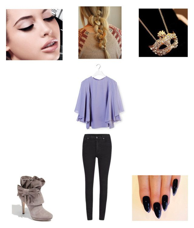"""Meeting Sully"" by maryvarleyrox ❤ liked on Polyvore featuring Cheap Monday, Yves Saint Laurent, Maybelline, women's clothing, women's fashion, women, female, woman, misses and juniors"