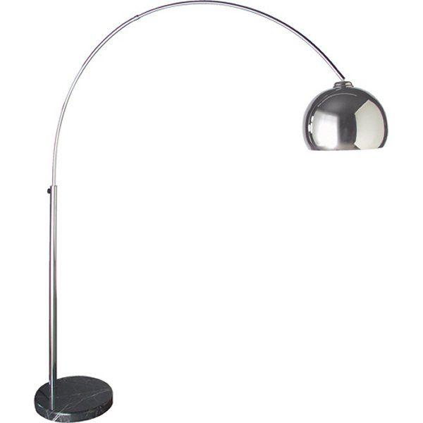 "Coach House Large Extending ""Chrome"" Floor Standing Lamp ..."
