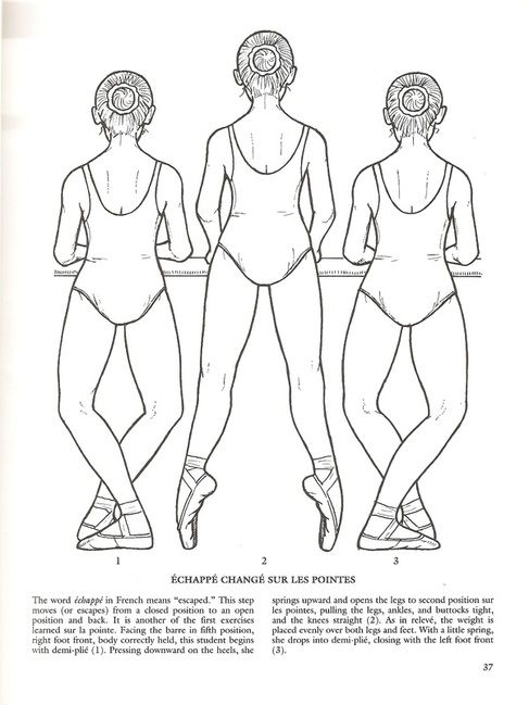 ballet class coloring pages - Free Ballet Coloring Pages 2