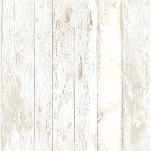 Dutch Wallcoverings Exposed sloophout beige PE10030 - sloophout - wohnzimmer tapeten braun beige
