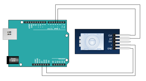 KY-040 Arduino Tutorial, Schematics and more. | Henry's Bench
