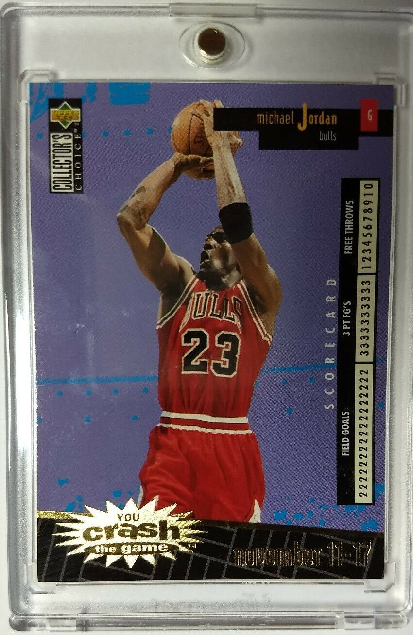 1996 Michael Jordan, You Crash the Game Gold C30 (Nov 11