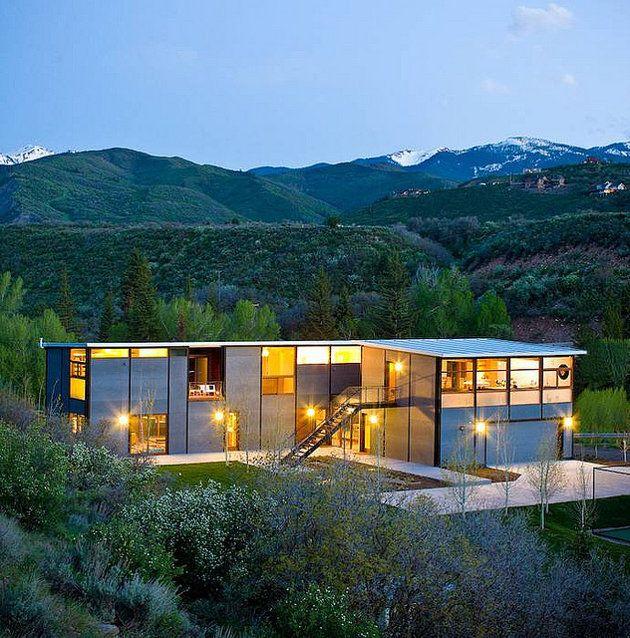 Six Fabulous Prefab Houses Modern Modular Homes Prefab Homes Modern Prefab Homes