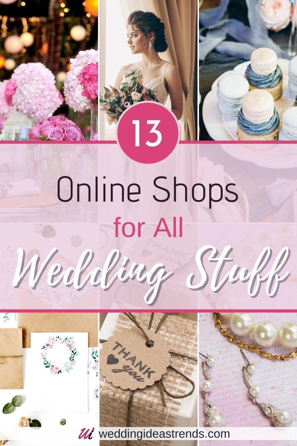 13 Online Shops For All Wedding Stuff In 2020 Wedding Gift Favors Gifts For Wedding Party Wedding Gifts For Guests