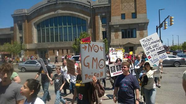 Cleveland Ohio!  March AGAINST Monsanto!