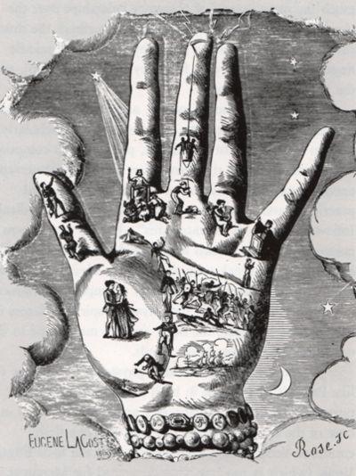 Mystères de la Main - Révélations Complètes - Chiromancie, Phrénologie, Graphologie et Études Physiologiques, by Ad Desbarrolles