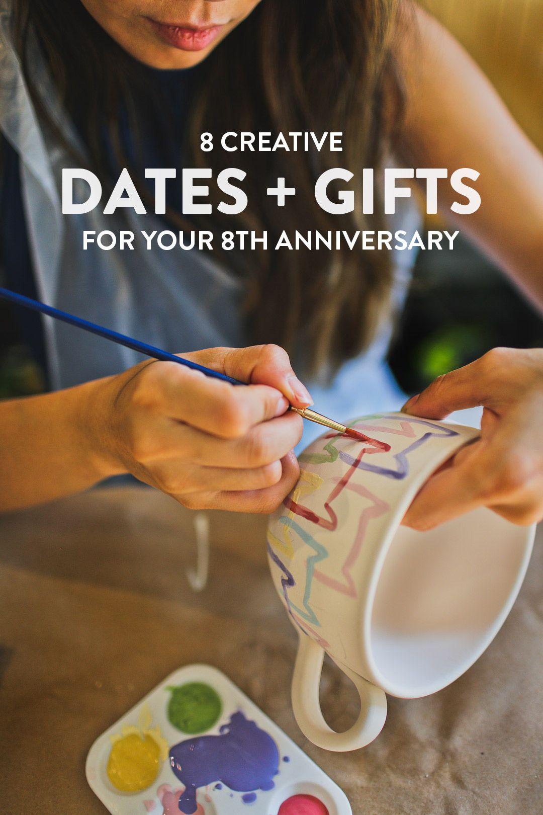 8 year anniversary gift salt