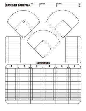 Softball positions chart studentlinc free download little league baseball game plan also printable diamond diagram pinterest rh